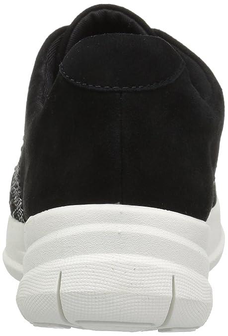 FitFlop Sporty-Pop X Crystal Sneaker, Baskets Femme, Rose (Mocha 061), 38 EU