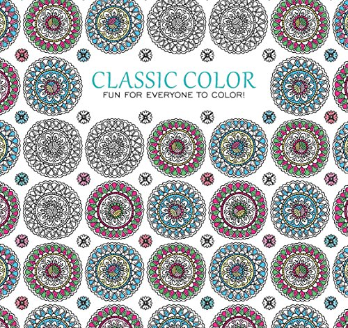 Classic Color, Fun For Everyone to Color | Leisure Arts (6911)