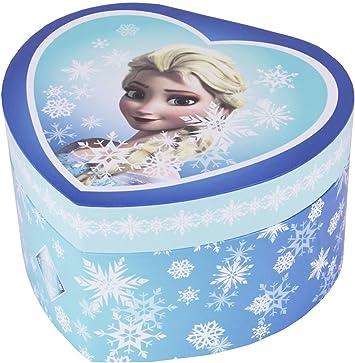 Trousselier Caja de joyería Caja de música Frozen Elsa Snow Queen ...