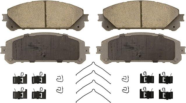 Disc Brake Pad Set-ThermoQuiet Disc Brake Pad Front Wagner QC1650