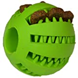 Zenify Puppy Toys Dog Toy Puppy Treat Training Behaviour Ball - Interactive Stimulation Gift for Smarter Dogs and Puppies (Green (Small))