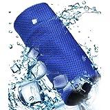 瞬冷タオル 冷却タオル 冷感 速乾 スポーツアイスタオル 暑さ対策 クール 超吸水 アウトドア 運動 水泳 登山 旅行