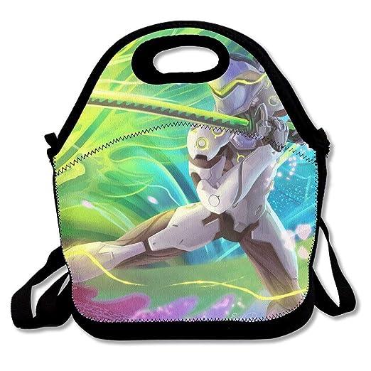 Overwatch OW Genji Lunch Bag Tote Handbag: Amazon.es: Hogar