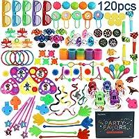 Amy&Benton 120PCS Classroom Treasure Box Prizes Kids Birthday Party Favors Goody...
