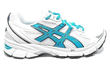 Colorido Asics Mujer Azul Blanco Zapatillas Para Correr Gel