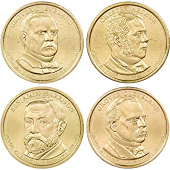 2011-D $1 Presidential Dollar 4-Coin Set Uncirculated Mint State