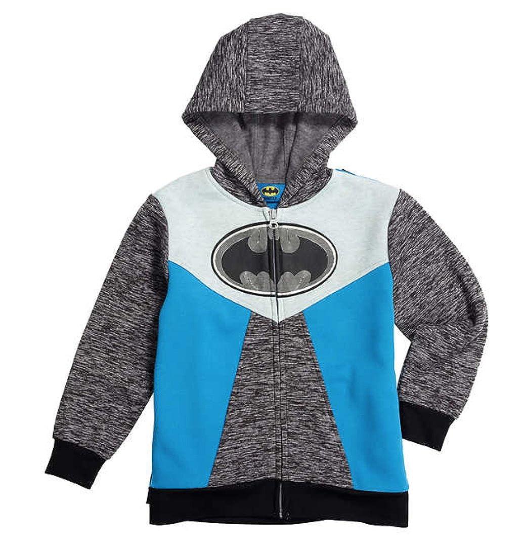 Batman 6 Character Youth Fleece Lined Hoodie