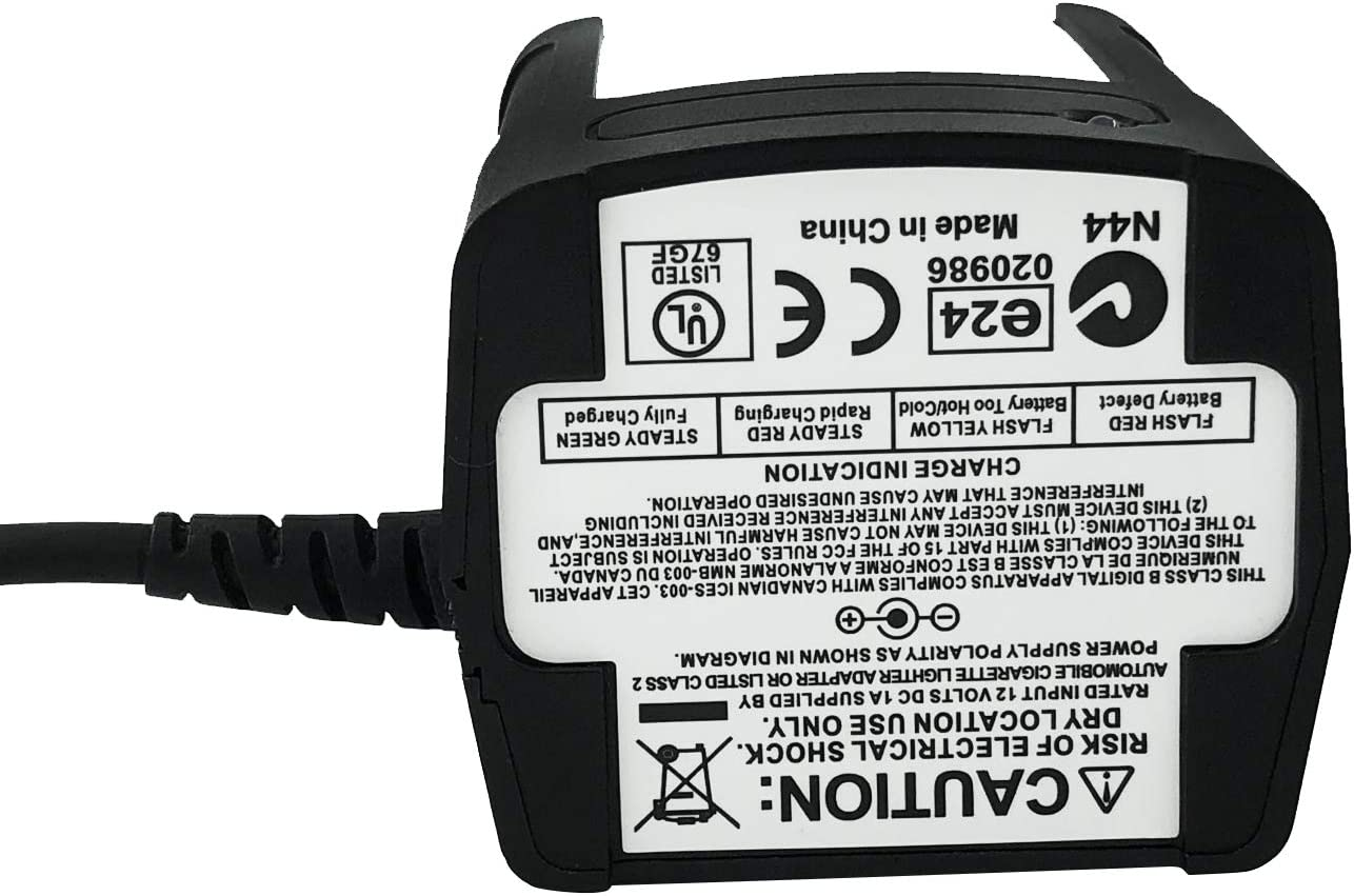Amasu RLN4883B Car Travel Battery Charger for Motorola HT750 HT1250 HT1250LS HT1550 GP328 GP338 GP340 GP380 MTX850 MTX950 MTX8250 MTX9250 PRO5150 PROO7150 Radio
