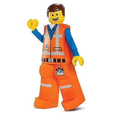 Disguise Emmet LEGO Movie 2 Prestige Boys' Costume: Toys & Games