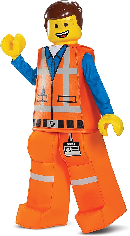 Amazon Com Disguise Emmet Lego Movie 2 Prestige Boys Costume Toys Games