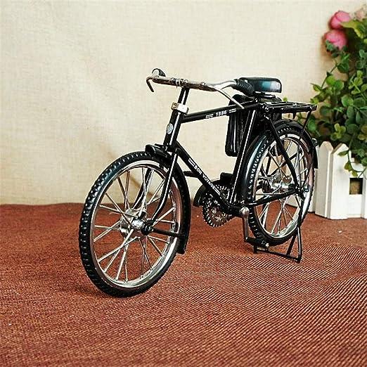 WDDqzf Adornos Escultura Figurilla Estatuas Bicicleta Ultra ...