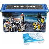 Playmobil - 064660 - Ameublement Et Décoration - Boîte De Rangement + Boîte Compartiments - Chevaliers