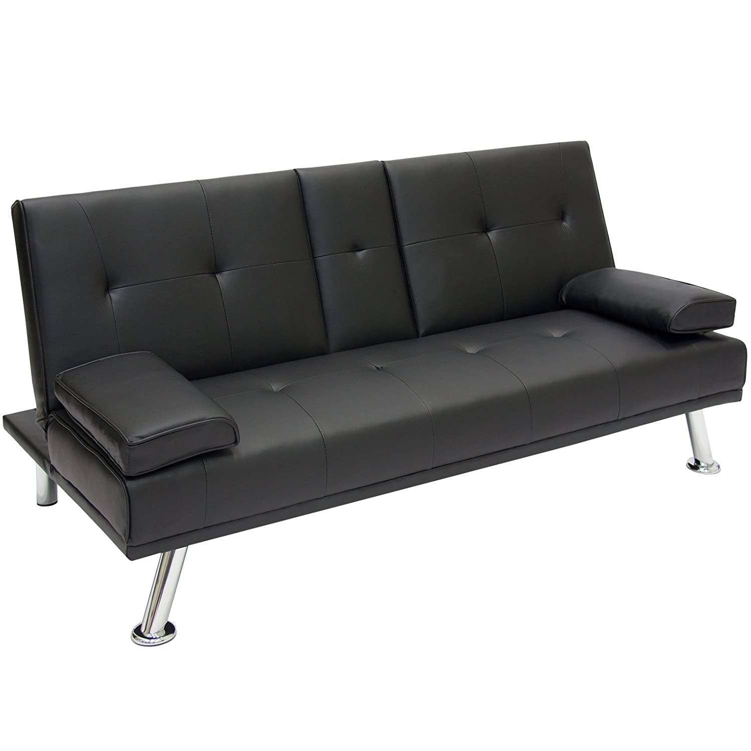 Amazon Best Choice Products Modern Entertainment Futon Sofa