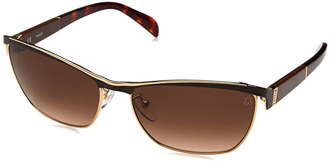 Tous STO309-590F10 Gafas de Sol, Shiny Rose Gold, 59 para Mujer