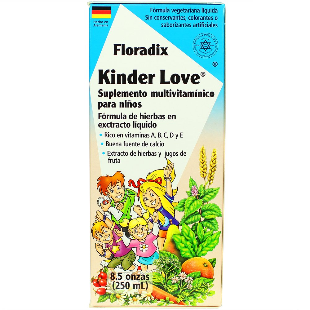 Amazon.com: Salus-Haus - Floradix Kinder Love Childrens Multivitamin - 8.5 oz (FFP): Health & Personal Care