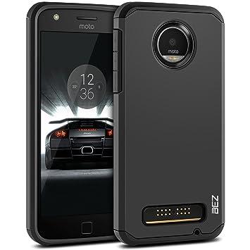 BEZ Funda Moto Z Play, Carcasa Compatible para Motorola Moto ...