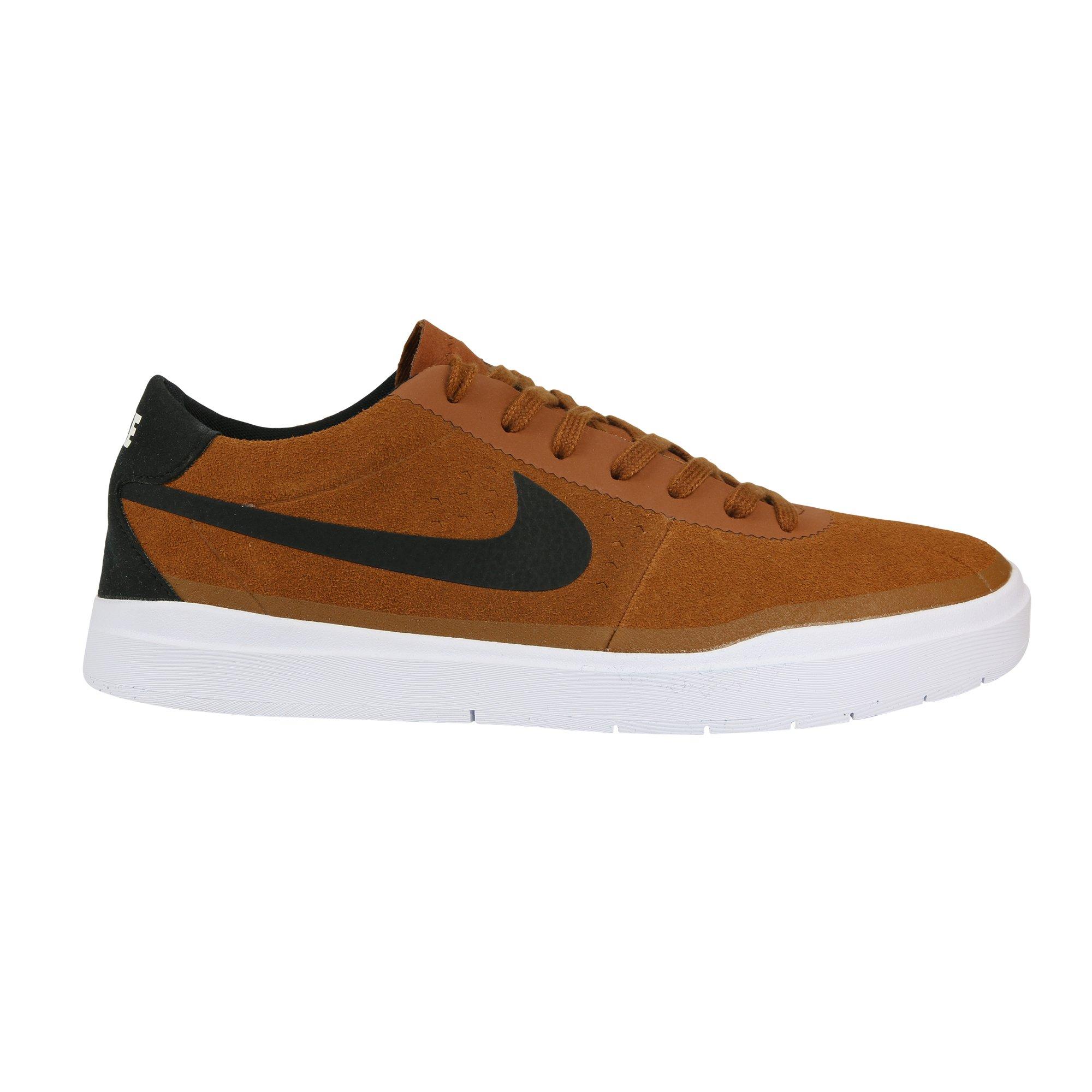 3762c7582a860 Galleon - Nike Men's Bruin Sb Hyperfeel Hazelnut/Black White Ankle ...