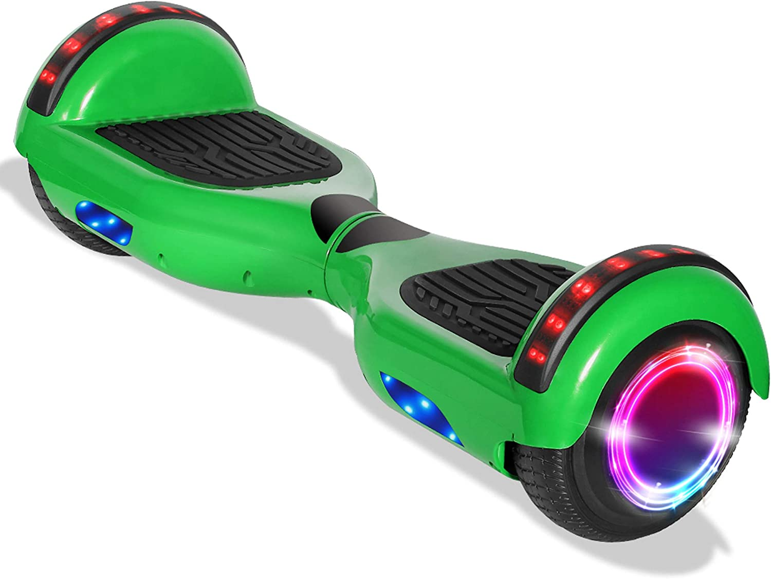 Bluetooth Hoverboard Self Balance Scooter LED Sidelights For Kids Adults no Bag