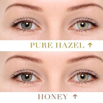 f48ddf2602 Nisels Lentillas de Color lentillas de Contacto Cosplay Maquillaje sin  corrección: Amazon.es: Electrónica
