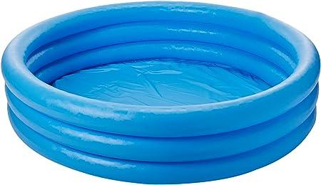 Amazon.com: Piscina inflable azul cristal (45 x 10 pulgadas ...