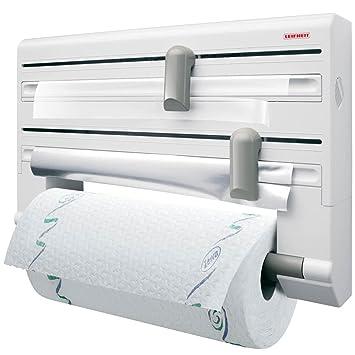 Leifheit 25703 Roll Holder, Parat White/Grey