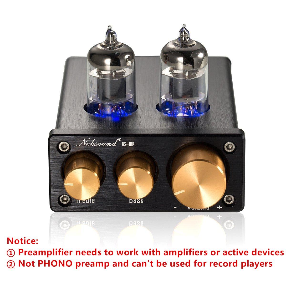Amazon.com: nobsound ns-10p Mini Vacuum Tube Preamp Audio Hi ...