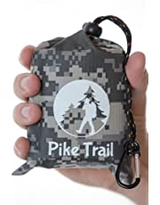 Pike Trail Pocket Blanket – Waterproof, Lightweight and Durable Tarpaulin for Outdoors – 152 x 142cm