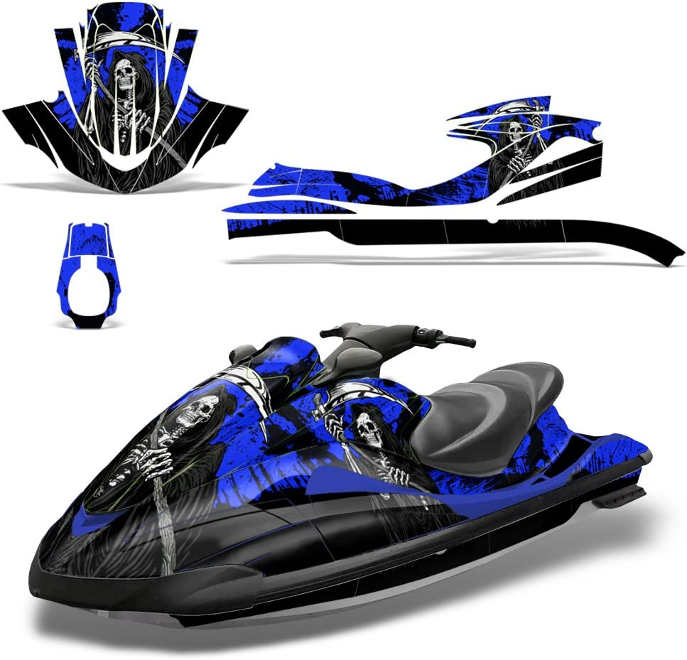 Decal Graphic Kit Yamaha Ski Wrap Jetski Waverunner Parts Wave Runner 02-05 WRKD