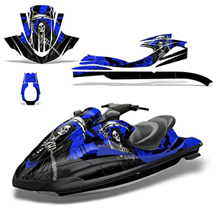Amazon.com: Yamaha Waverunner 2002-2005 Decal Graphic Kit Ski Wrap ...