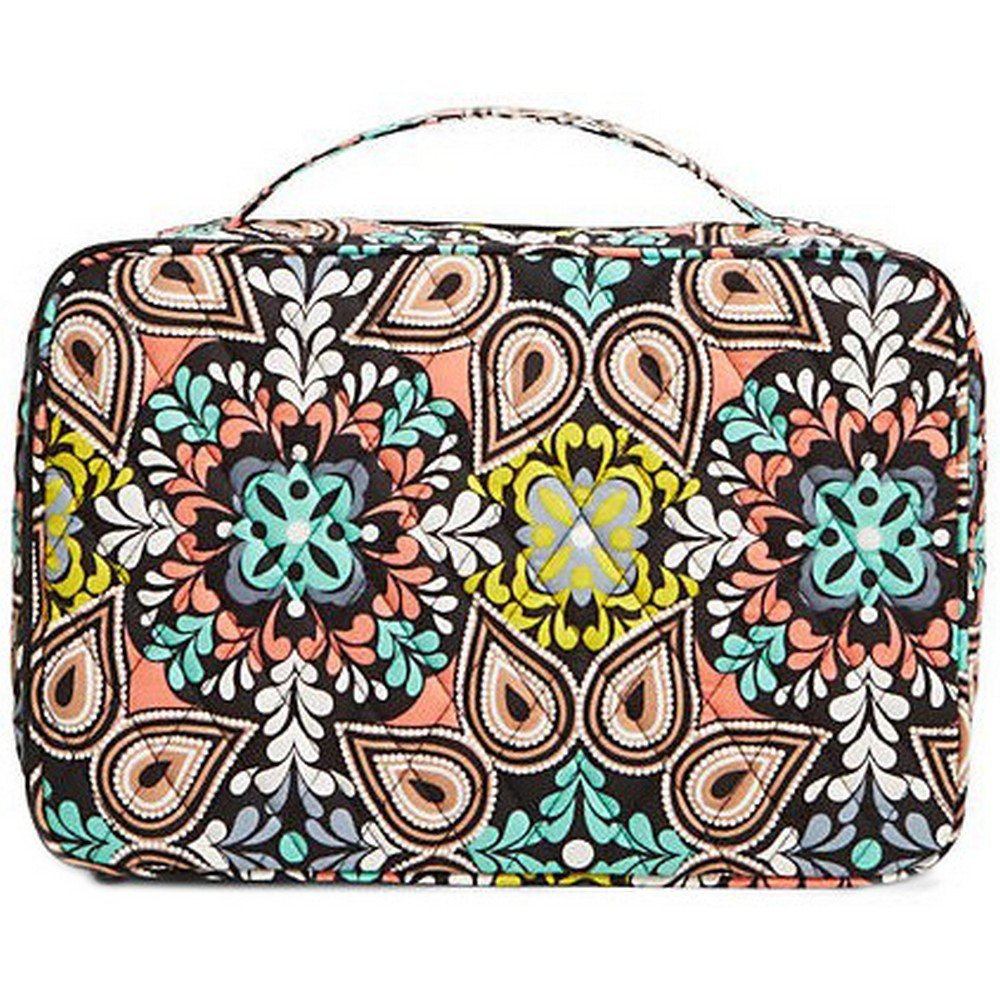Vera Bradley Luggage Women's Large Blush & Brush Makeup Case Sierra Luggage Accessory