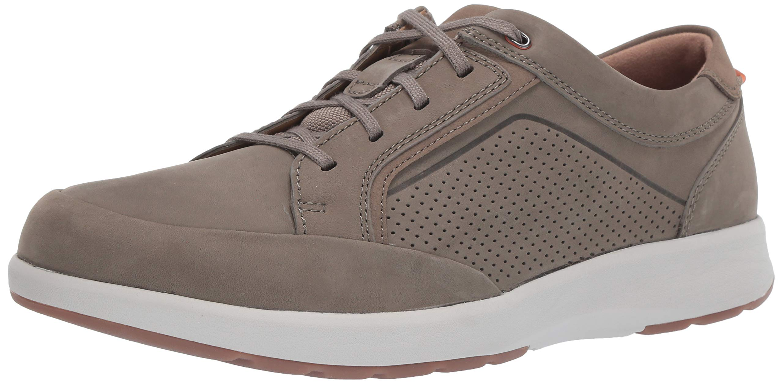 CLARKS Men's Un Trail Form Sneaker, Taupe Nubuck, 90 W US by CLARKS