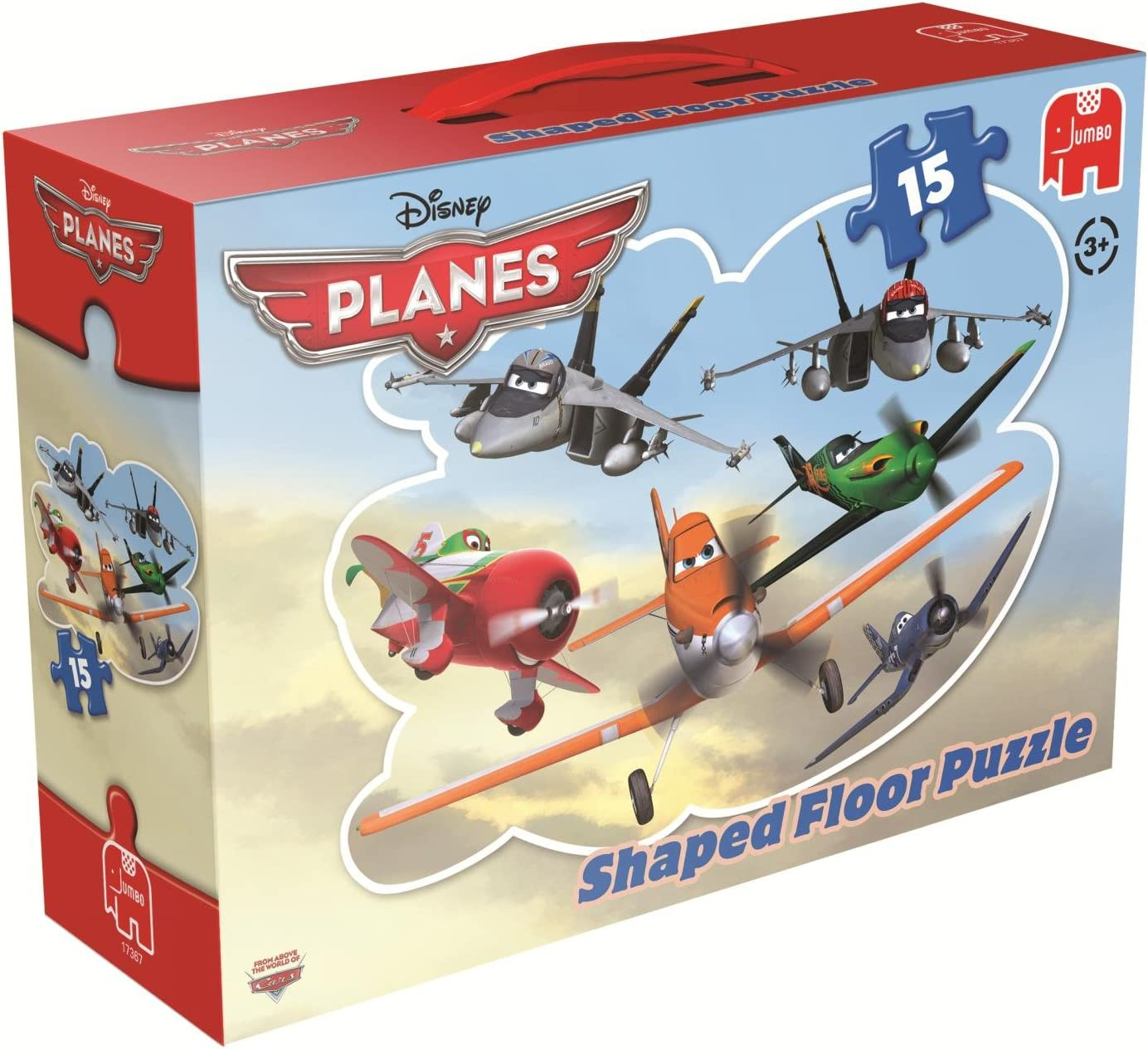 Disney Planes Shaped Floor Jigsaw Puzzle 15 Pieces Amazon Co Uk Toys Games