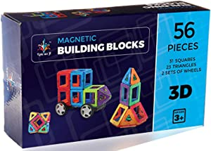 Magnetic Blocks Building Set for kids 56 pcs Giveaway