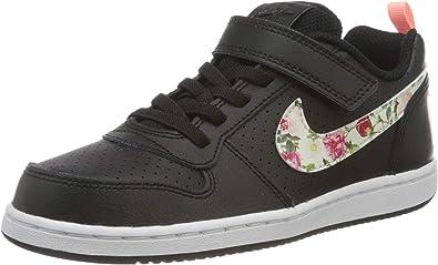 Nike Court Borough Low Vintage Floral (psv), Basket Mixte