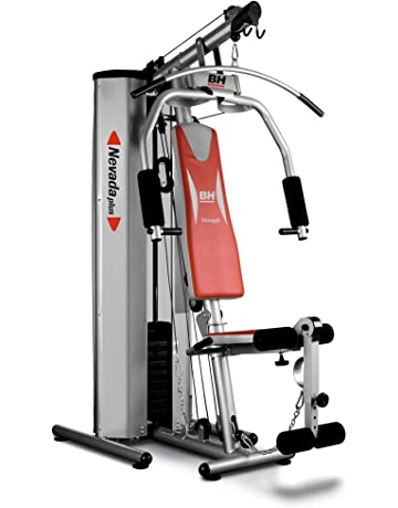 BH Fitness Nevada Plus G119XA - Multiestación compacta, tensión máxima 100 kg