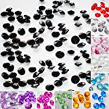 Time to Sparkle TtS 1000/2000/4000/5000pcs 3/4.5/6MM OR 100/200/400/500pcs 10MM Scatter Diamonds Table Crystals Acrylic Confetti Wedding Party
