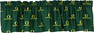 "College Covers NCAA Curtain Valance, 84"" x 15"", Oregon Ducks"