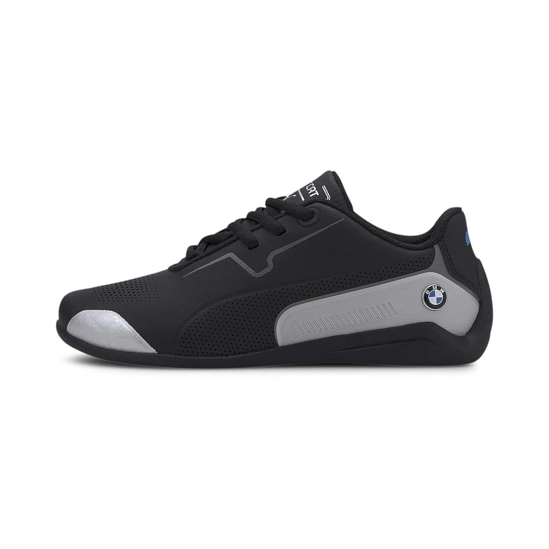 Compañero Excesivo excepto por  Buy Puma Boy's Puma Black & Puma Silver Sneaker - 4 UK at Amazon.in
