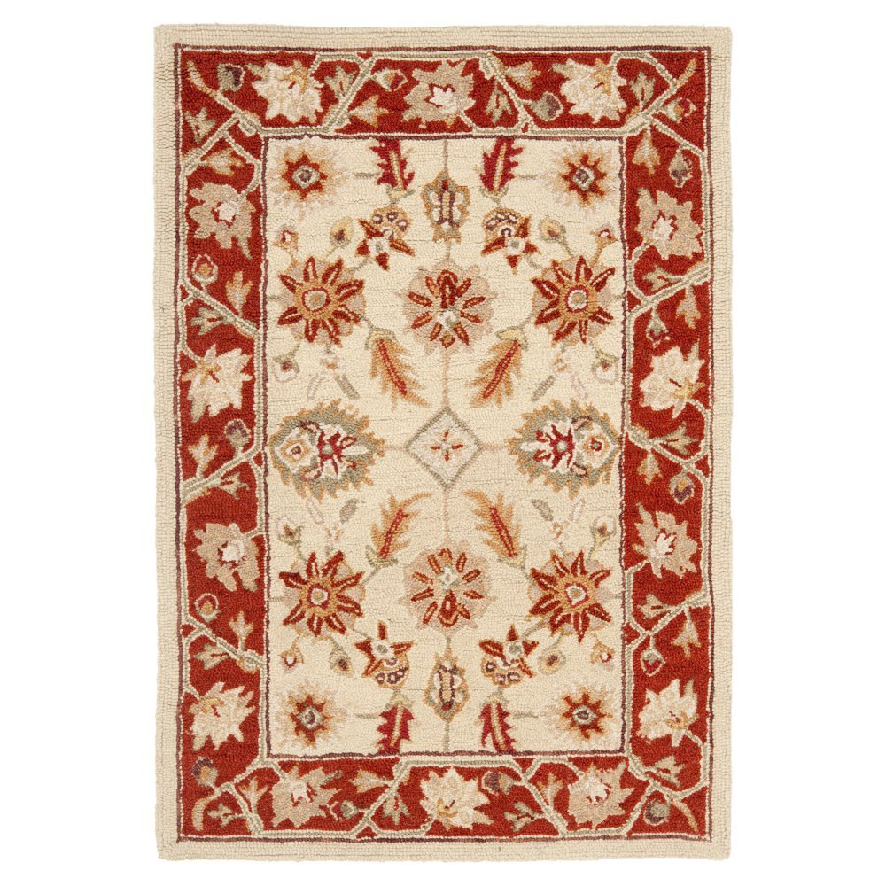 Country/Floral Rug - Chelsea -Ivory/Rust Ivory/Rust/Country/Floral/2' x 3'/Accent