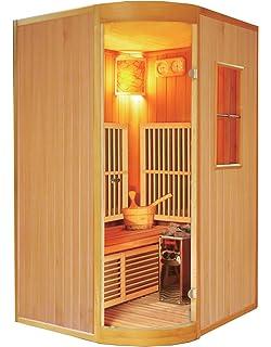 Großartig Sauna / Ecksauna mit Harvia Saunaofen ECK ! NEU ! (Infrarotkabine  QR57