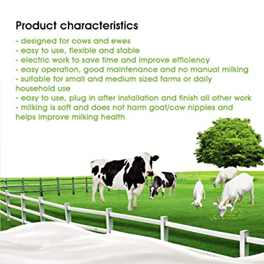 Amazon.com: Máquina de leche portátil eléctrica de acero ...