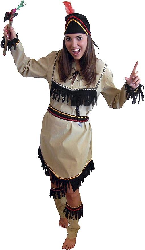 EL CARNAVAL Disfraz India Mujer: Amazon.es: Hogar
