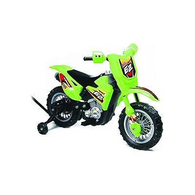Best Ride On Cars Mini Dirt Bike 6V, Green: Toys & Games