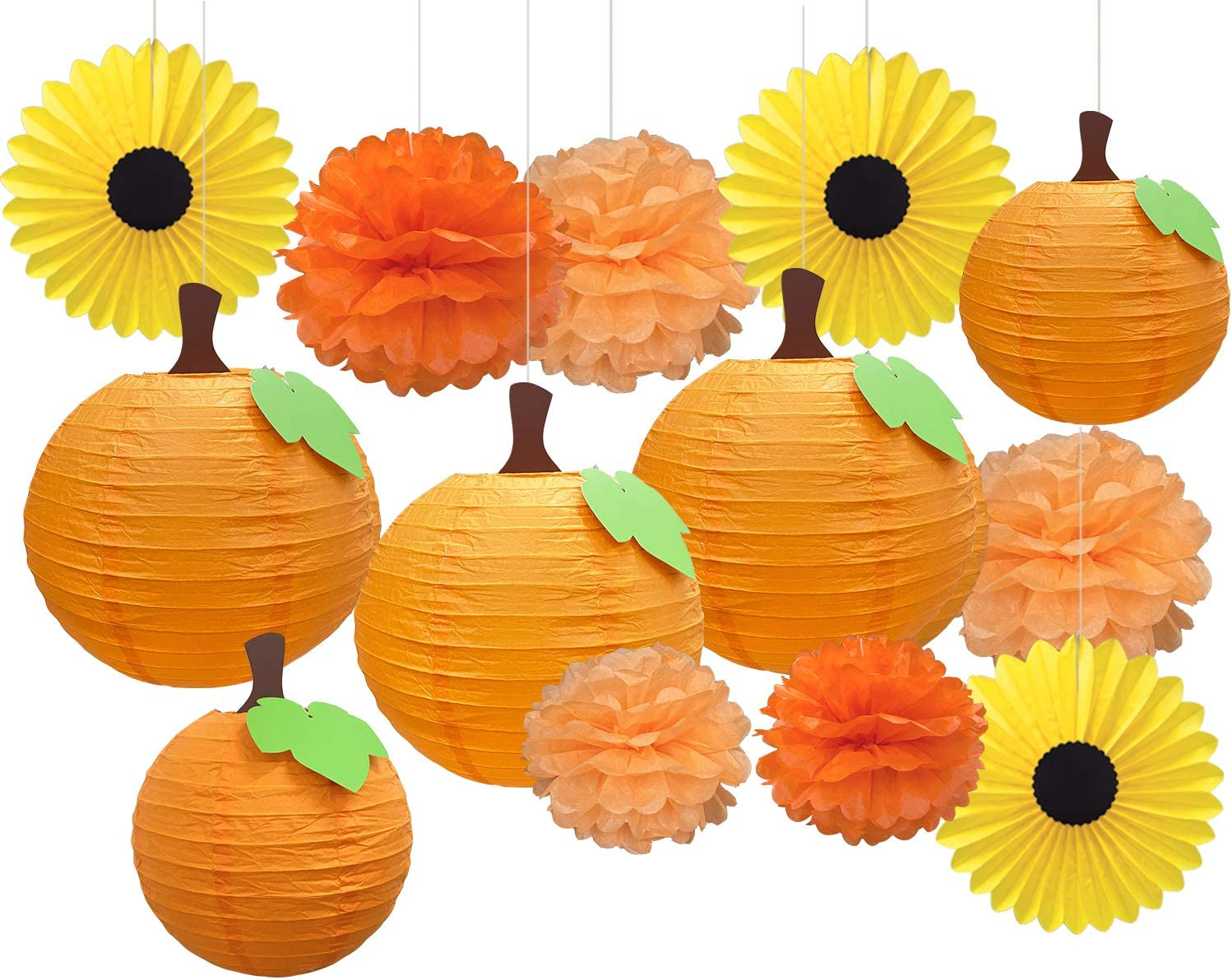 CHRORINE Fall Home Office Decor Fall Birthday Party Decorations Fall Little Pumpkin Baby Shower Decorations