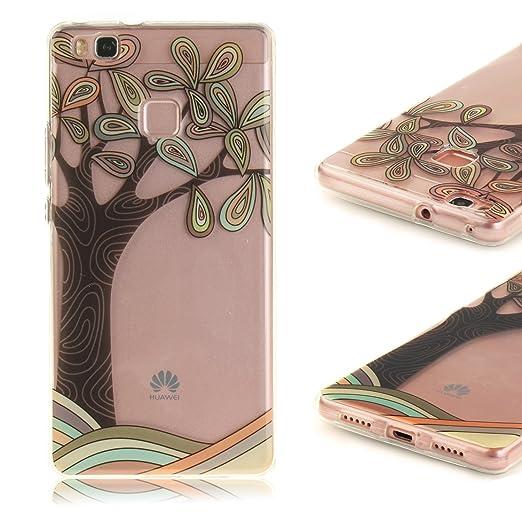 10 opinioni per Huawei P9 Lite Cover, CaseLover Huawei P9 Lite Custodia Silicone Transparente