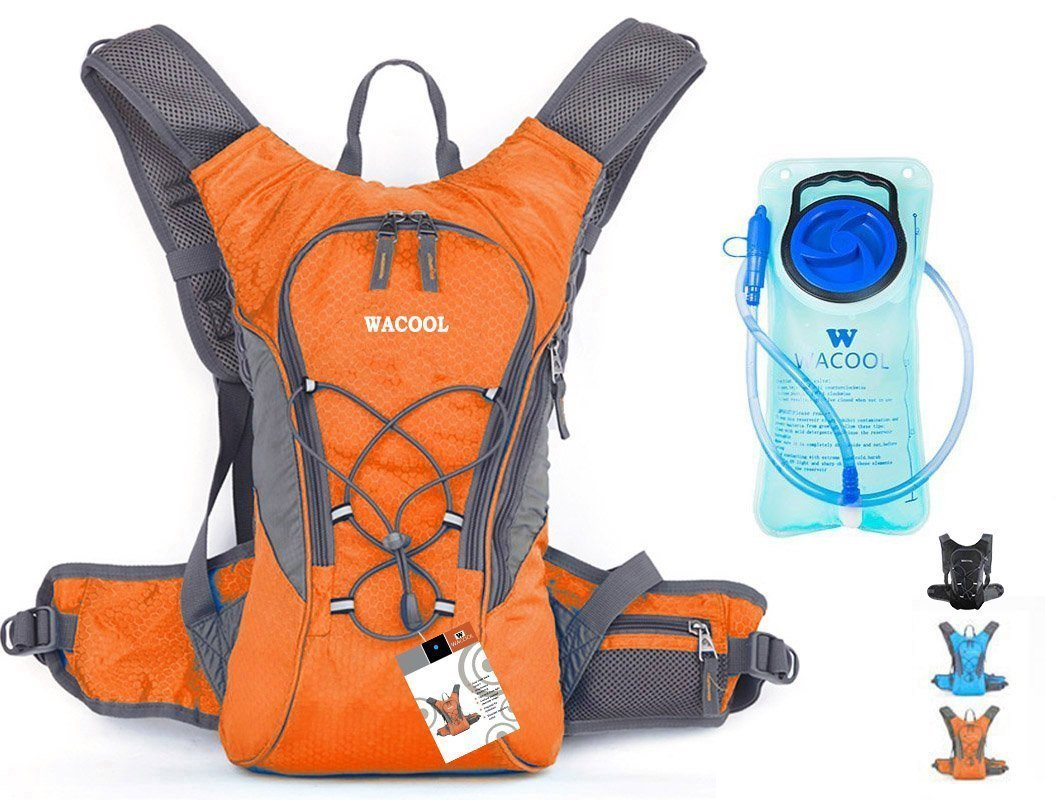 Default , Orange USWE Orange-Black Ranger 3 Litre Hydration Pack
