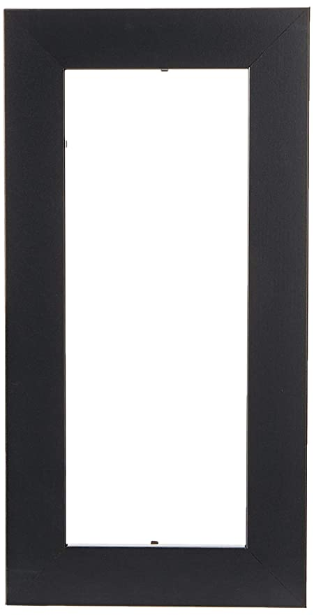 Amazon Arttoframes 4x10 Inch Satin Black Picture Frame