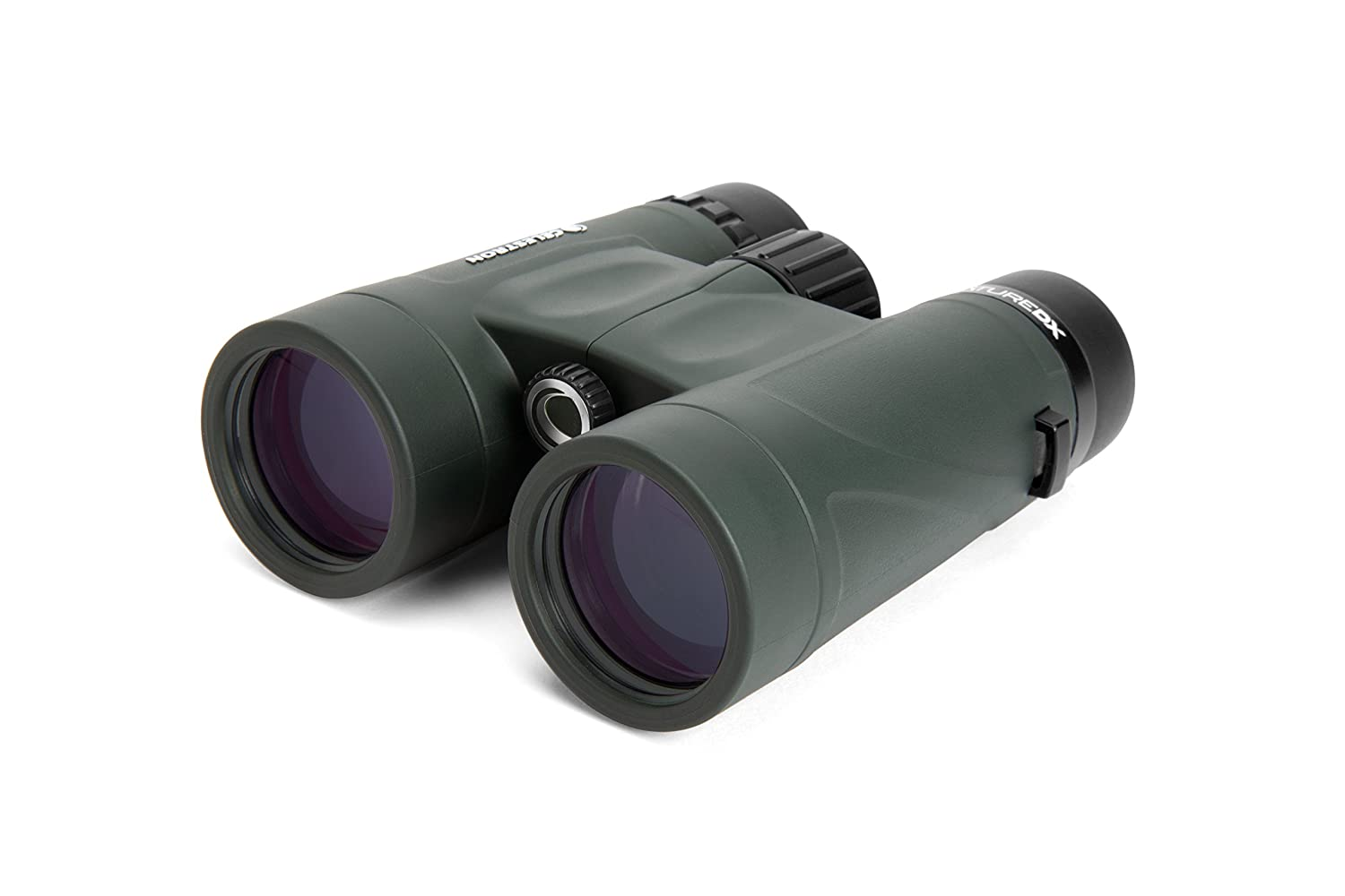 Celestron - Nature DX 8x42 Binocular - Top Rated Birding Binoculars - Fully Multi-Coated Optics with Phase Coated BaK-4 Prisms - Waterproof, Fogproof, and Rubber Armored - 6.5' Close Focus
