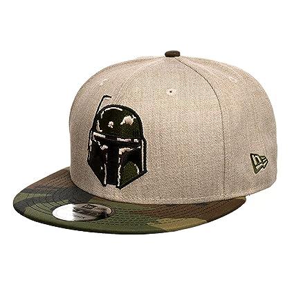 huge discount 5648d 39aa7 ... discount code for star wars new era boba fett camo snapback tan 7be14  d5dc1