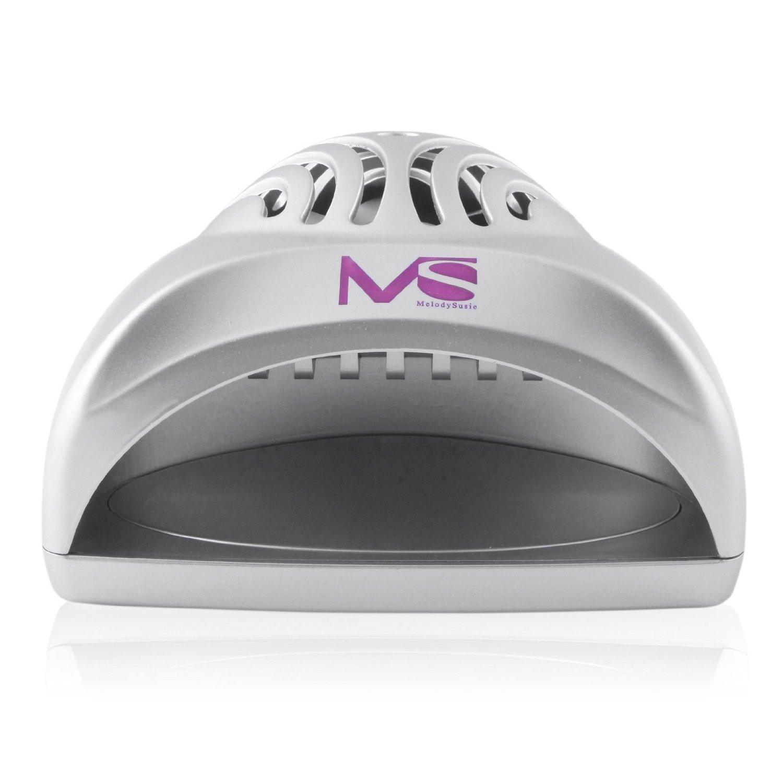 MelodySusie® Mini Ventilateur Séchoir à Ongles pour Vernis à Ongle – Argent